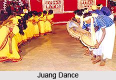 Dance of Juangs, Orissa