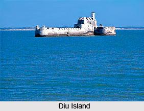 Diu Island, Indian Island