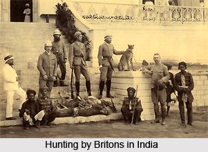 Indian Wildlife under British