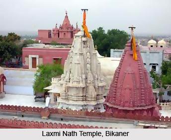 Laxmi Nath Temple, Bikaner, Rajasthan