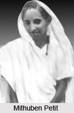 Mithuben Petit , Indian Women Activist