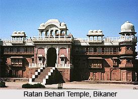 Ratan Behari Temple, Bikaner, Rajasthan