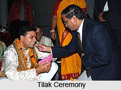 Tilak Ceremony, Indian Wedding