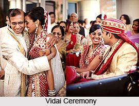 Vidai Ceremony, Indian Wedding