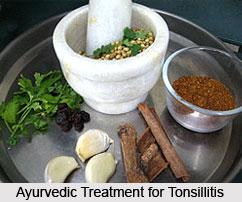 Treatment of Tonsillitis