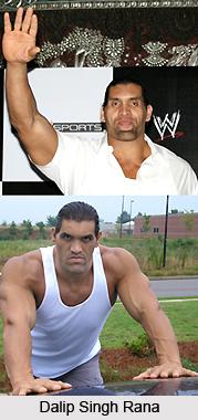Dalip Singh Rana, Indian Wrestler
