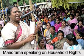 Ruth Manorama, Female Social Activist