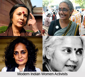 role of women in modern india