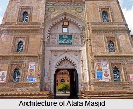Architecture of Atala Masjid
