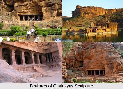 Features Of Chalukya Sculptures, Indian Sculpture