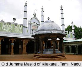 Old Jumma Masjid of Kilakarai, Tamil Nadu