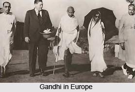 Role of Gandhi in World War I