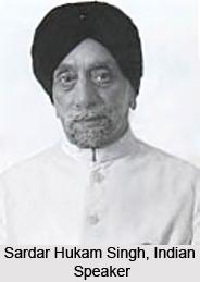 Sardar Hukam Singh, Indian Speaker