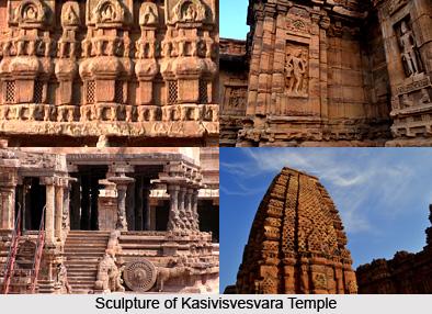 Sculpture of Kasivisvesvara Temple