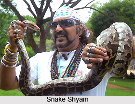 Snake Shyam, Indian Conservationist