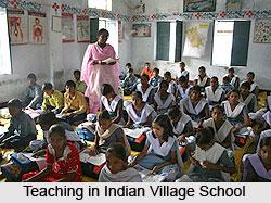 Teaching in Indian Village Schools
