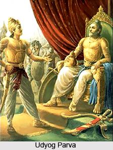Udyoga Parva, 18 Parvas of Mahabharata