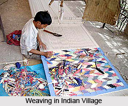 Weaving in Indian Villages