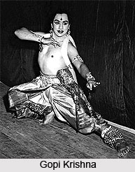 Gopi Krishna, Indian Choreographer