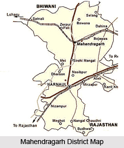 Mahendragarh District, Haryana