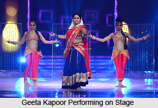 Geeta Kapoor, Indian Choreographer