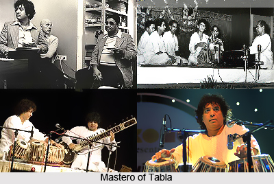 Ustad Zakir Hussain, Indian Classical Instrumentalist