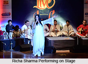 Richa Sharma, Indian Playback Singer