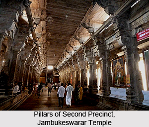 Architecture of Jambukeswarar Temple