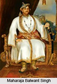 Balwant Singh, Ruler of Bharatpur