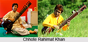Chhote Rahimat Khan, Indian Sitar Player