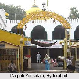 Dargah Yousufain, Hyderabad, Andhra Pradesh
