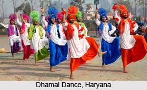 Dhamal Dance, Haryana