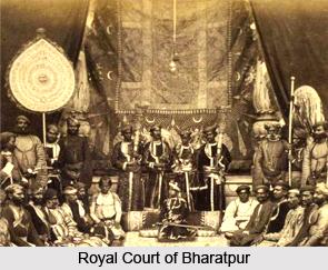 Girraj Kaur, Queen of Bharatpur