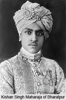 Kishan Singh, Ruler of Bharatpur