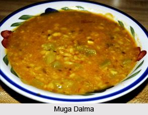 Muga Dalma, Oriya Recipe