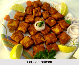 Paneer Pakoda, Indian Snacks