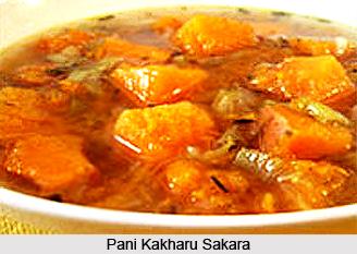Pani Kakharu Sakara, Oriya Recipe