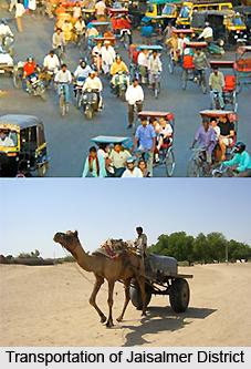 Transportation of Jaisalmer district