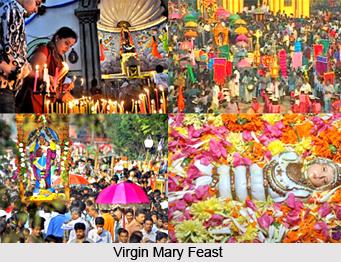 Virgin Mary Feast , Indian Festival
