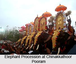 Chinakkathoor Pooram, Palakkad District, Kerala