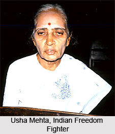 Usha Mehta, Indian Freedom Fighter