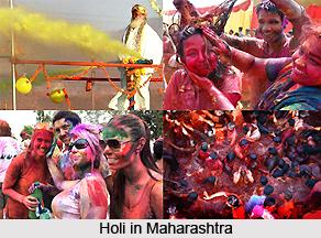 Holi Celebration in Indian states