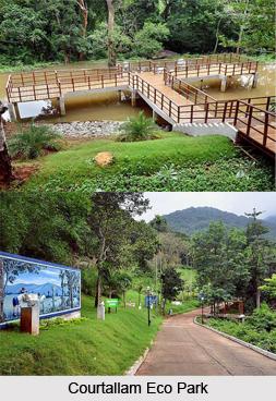Courtallam Eco Park, Tirunelveli District, Tamil Nadu