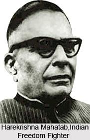Harekrishna Mahatab, Indian Freedom Fighters