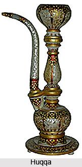 Huqqas, Gold Art in Mughal India