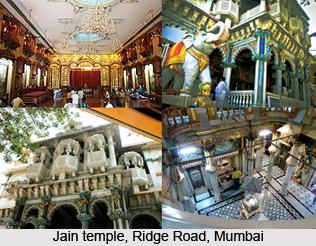 Jain temple, Ridge Road, Mumbai