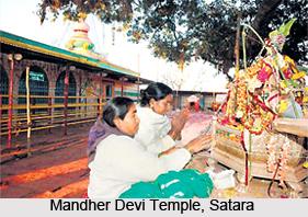 Mandher Devi Temple,  Satara