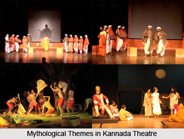 Mythological Themes in Kannada Theatre