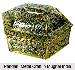 Pandan, Metal Craft in Mughal India