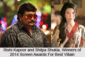 Screen Awards for Best Villain